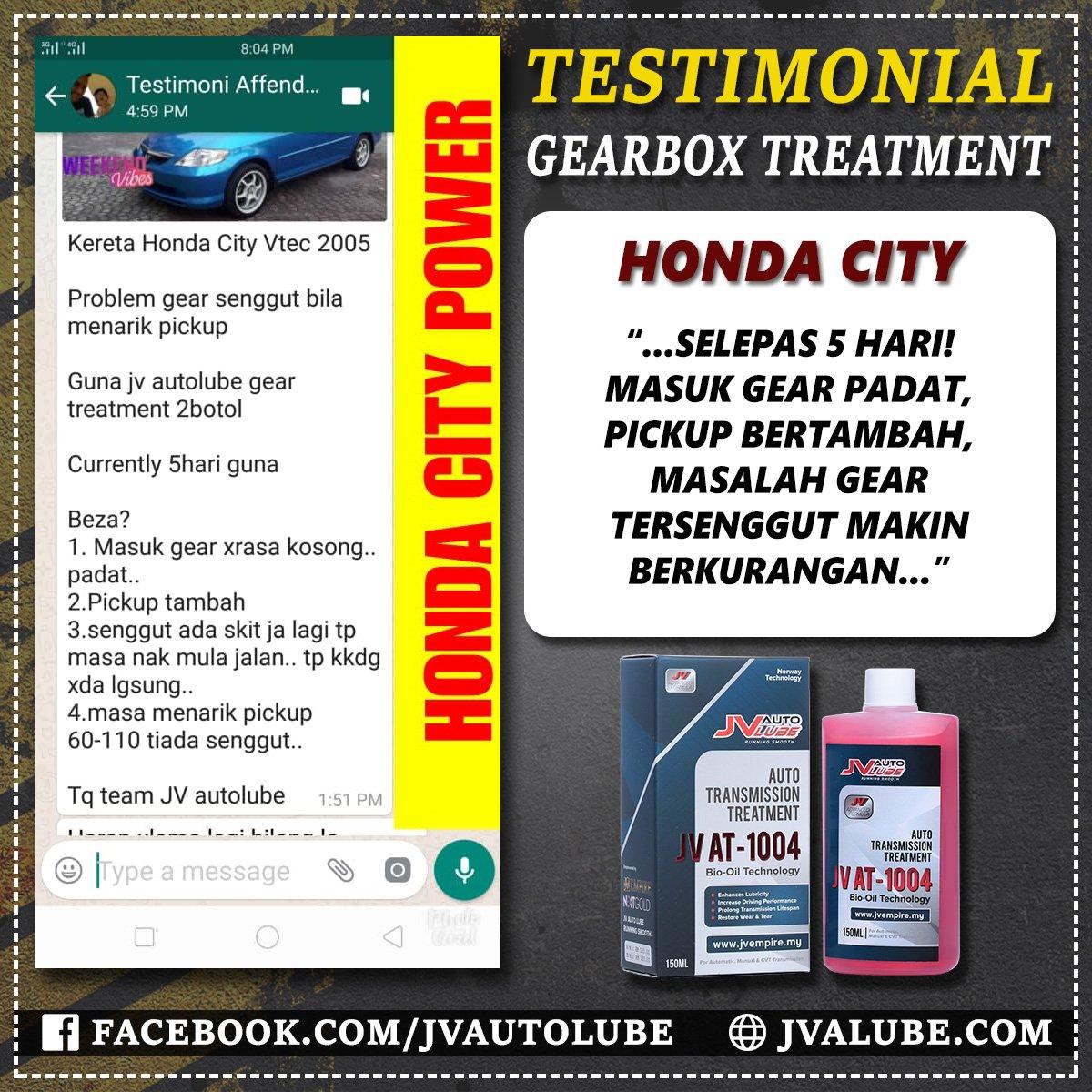 Testimoni AT 008 - Honda City