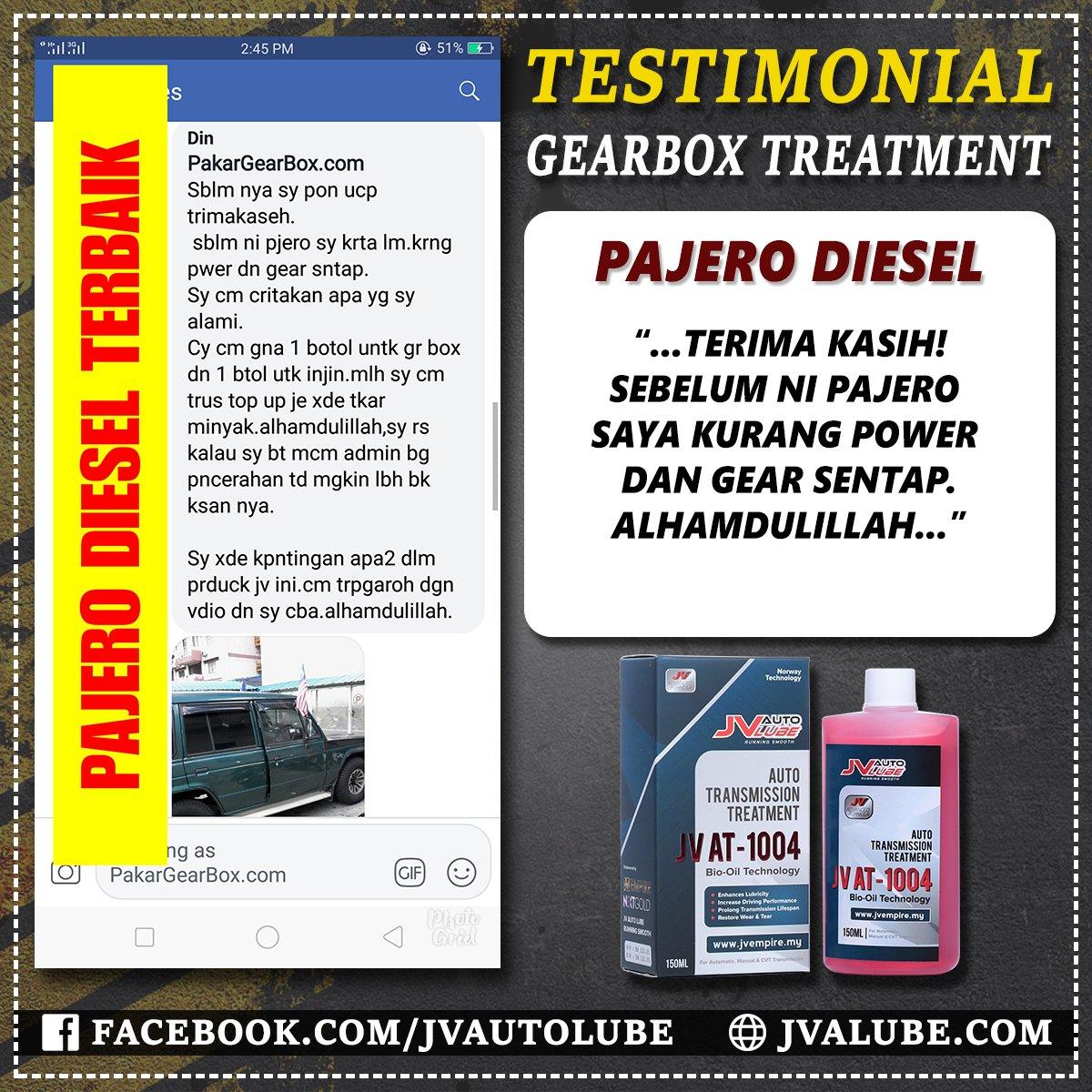 Testimoni AT 013 - Toyota Pajero Diesel