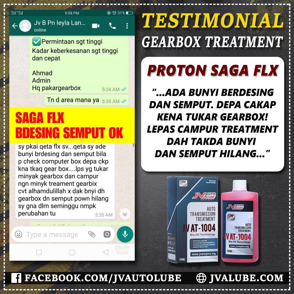 Testimoni AT 042 - Proton Saga FLX